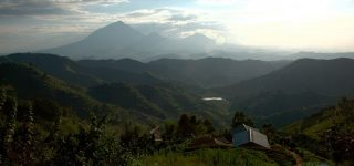 The 8 Virunga Volcano Mountains