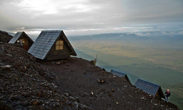Mount Nyiragongo Summit Shelters