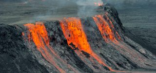 Mount Nyiragongo eruption